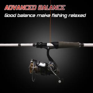 Good balance make fishing relaxed