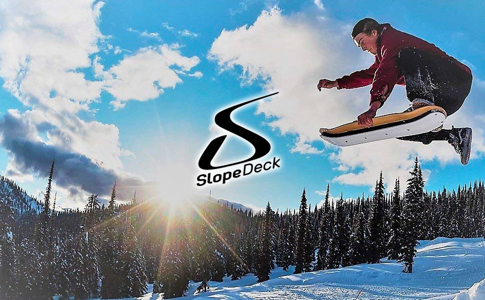 Agog Sports SLOPEDECK A Skateboard For The Snow Carve Turns Like No Other ...