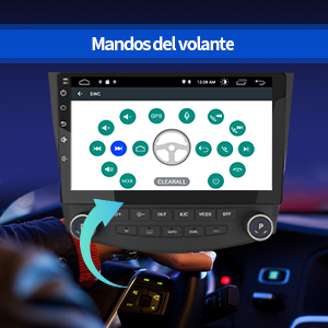 autoradio 2 din Honda Accord Android radio 2 din Honda Accord Android pantalla 2 din
