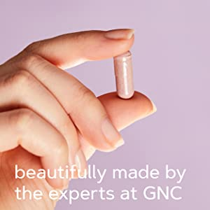 beautifully made by the experts at GNC