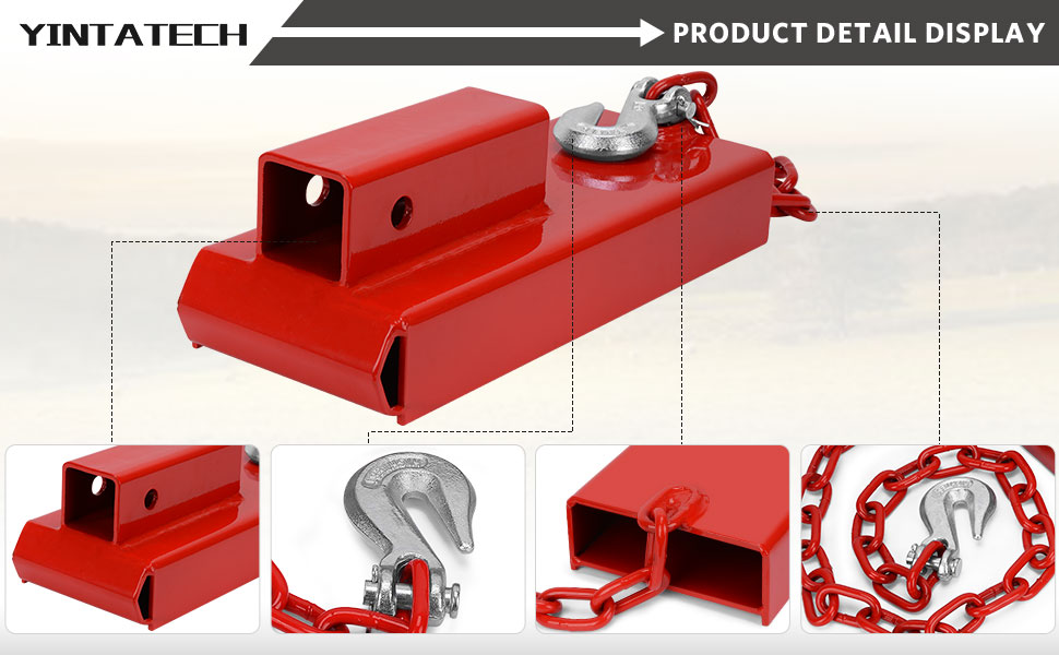 clamp on forklift hitch receiver-02