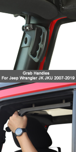 Grab Handles for Jeep Wrangler JK JKU 2009-2019
