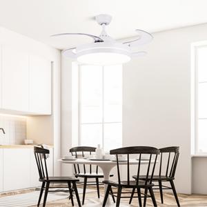 ventilateur de plafond avec telecommande et lumiere