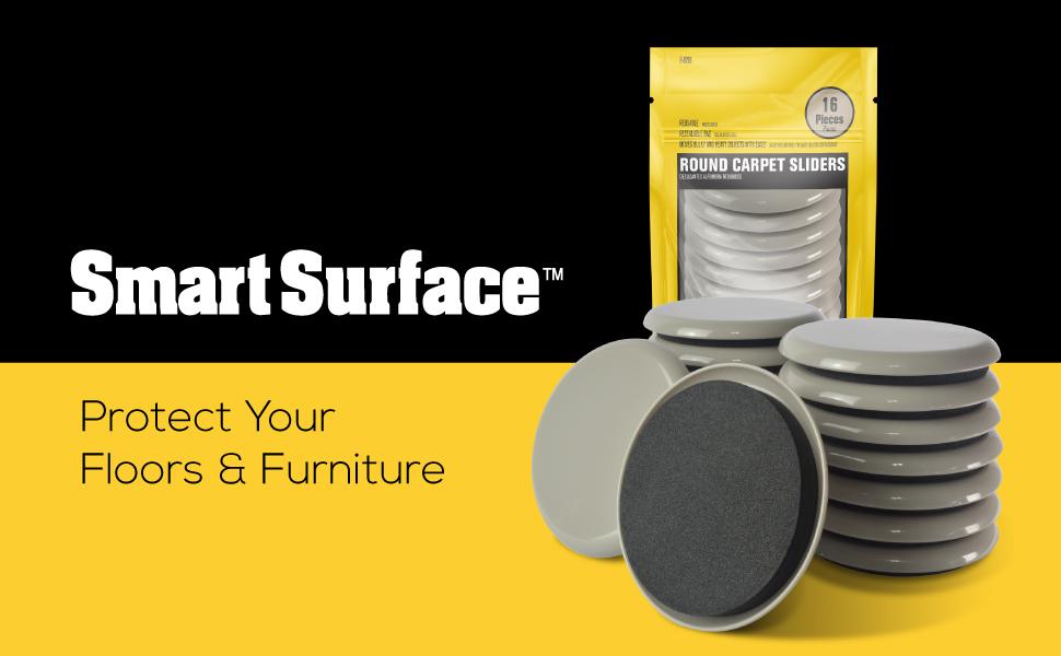 Smart Surface Carpet Sliders