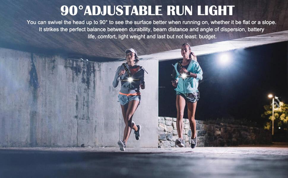 running light chest light for runners joggers