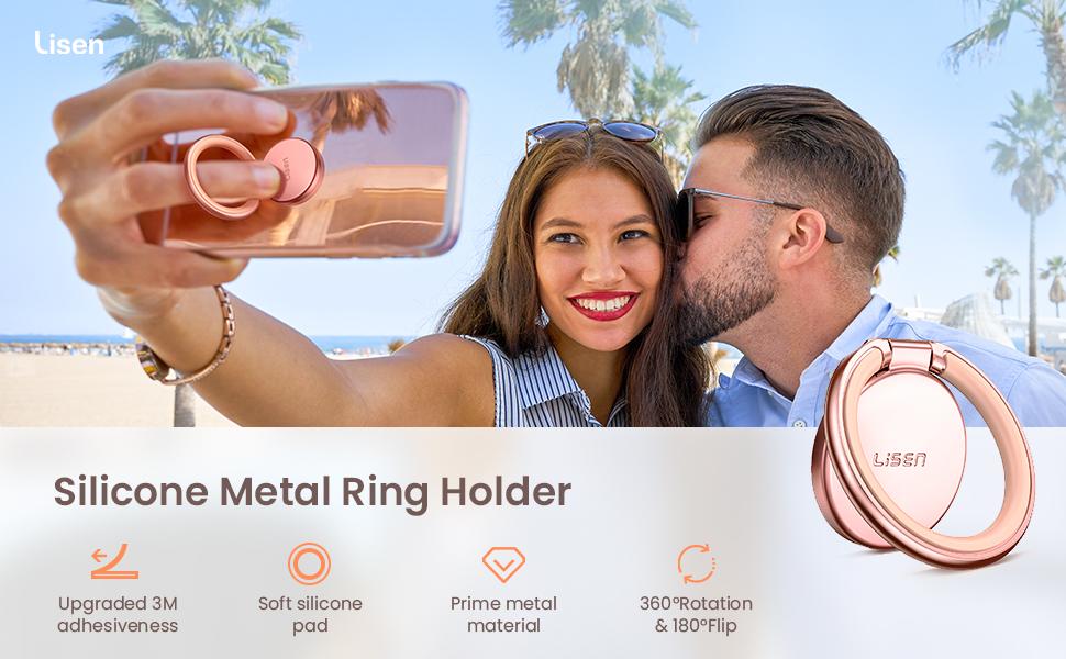 thin ring holder for cell phone finger ring stand holder for phone case ring grip holder