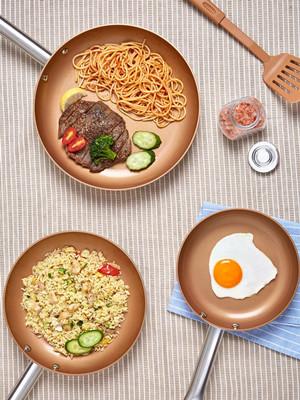 copper nonstick pan