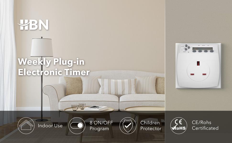 weekly digital timer plug