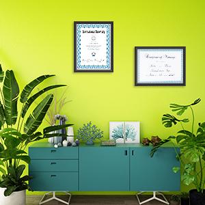 degree holder frame multiple certificate frame picture frame for certificate 8.5x11 diploma frames
