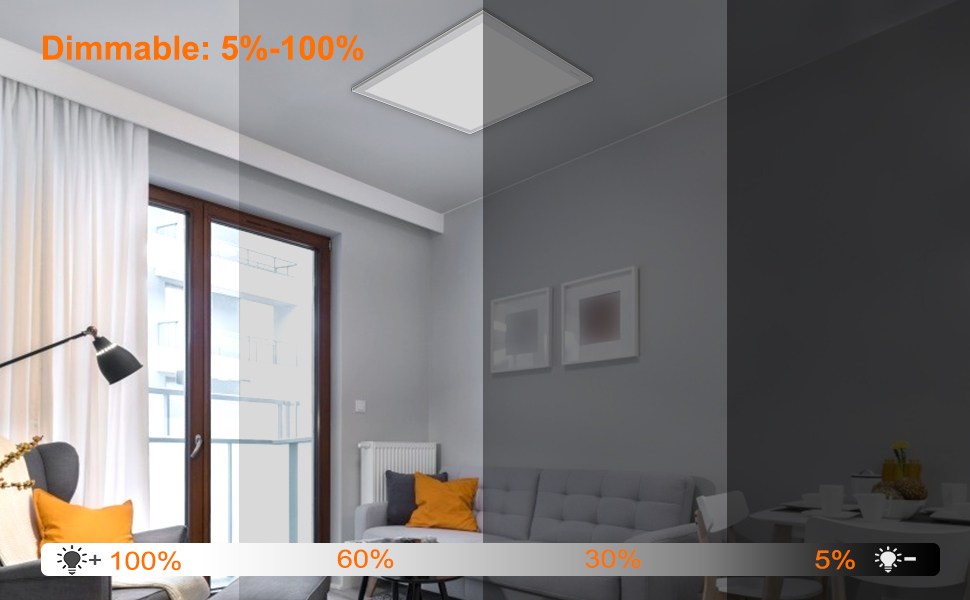 Dimmable:5%-100%