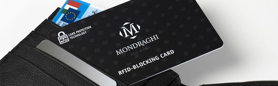 Rfid card misure standard per tutti i portafogli