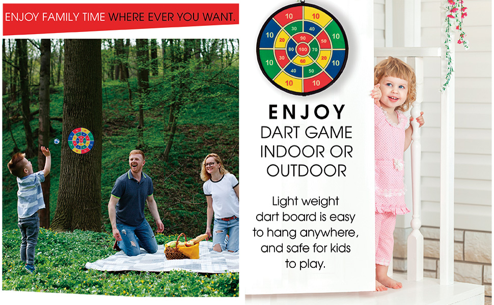 enjoy family game indoor or outdoor