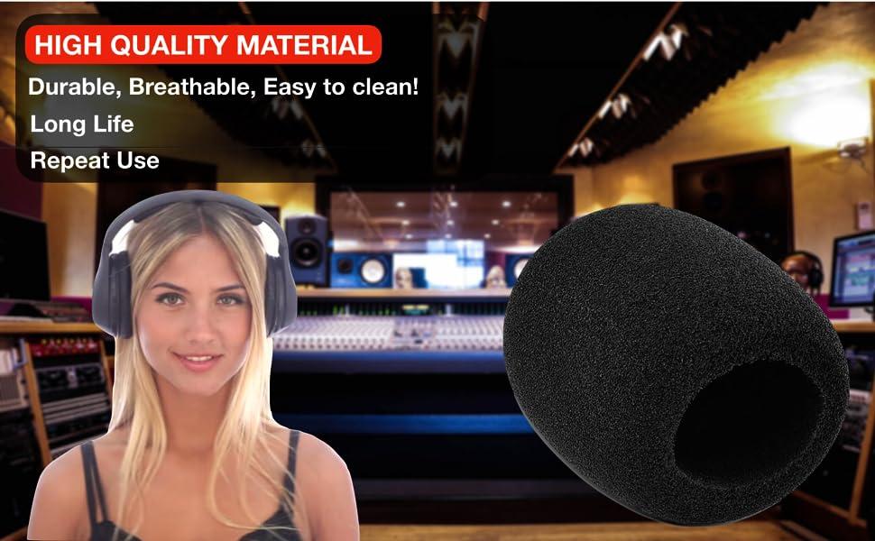 microphone cover, microphone cover foam, mic cover, microphone filter, mic foam cover, mic muffler