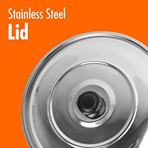 STAINLESS STEEL LID