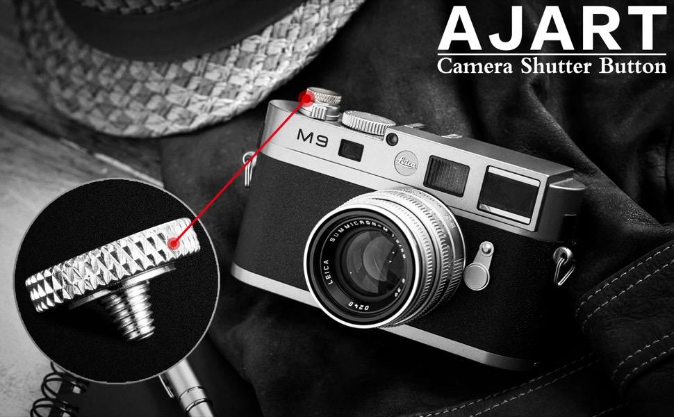Botón disparador cóncavo 2x Para Fujifilm XT20 XT10 X100T XT1 X-E1