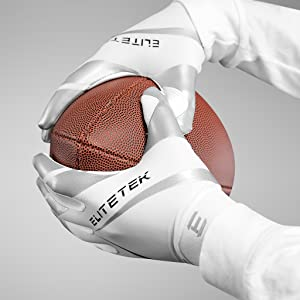 youth football gloves, sticky grip, youth football