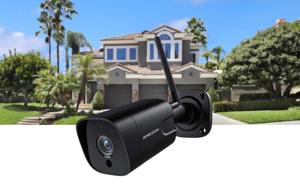 AMICCOM WIFI outdoor camera