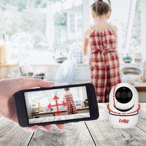 Falke Kamera, Wifi Kamera, WLAN, Drehen, 1080P