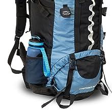 Backpacker-Rucksack 4 Continents 85+10 - Meshtaschen