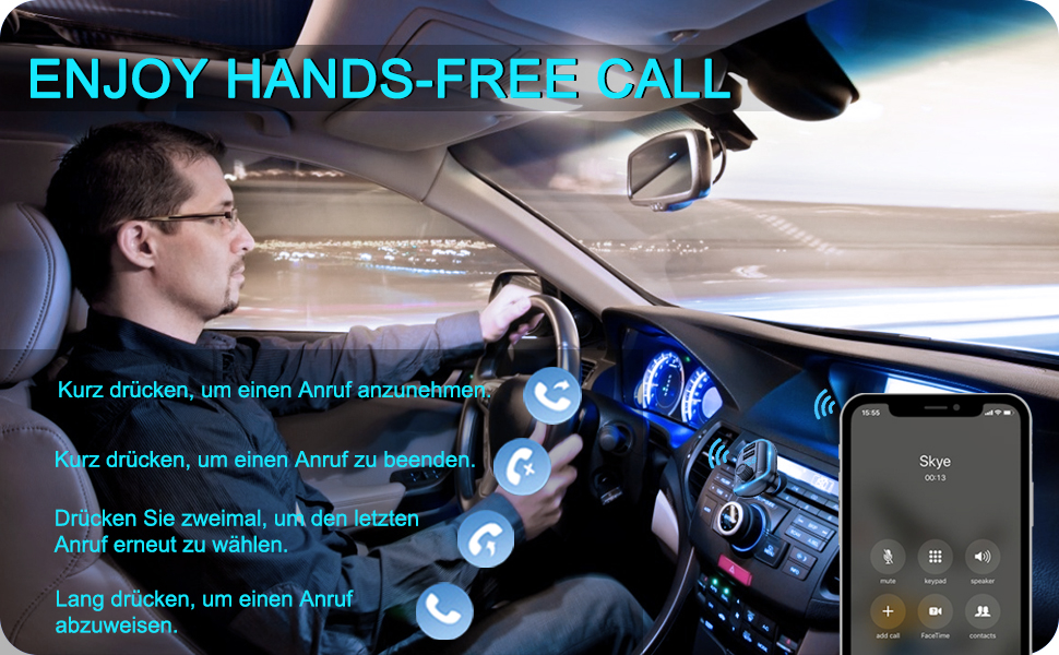 hands-free call