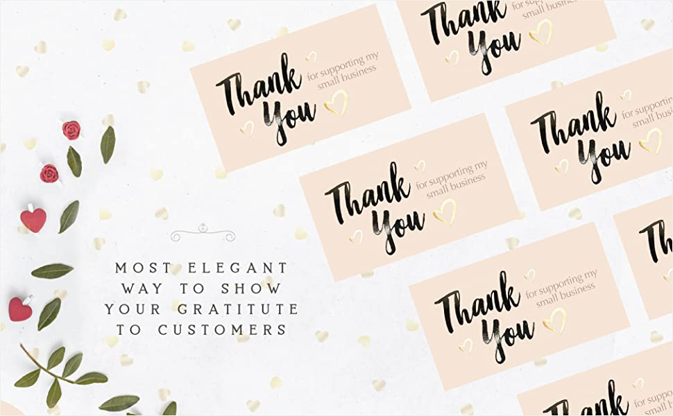 Thank you note cards for small business small business cards note cards thank you cards business
