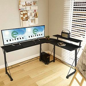 For your Dormitory gaming desk l shape