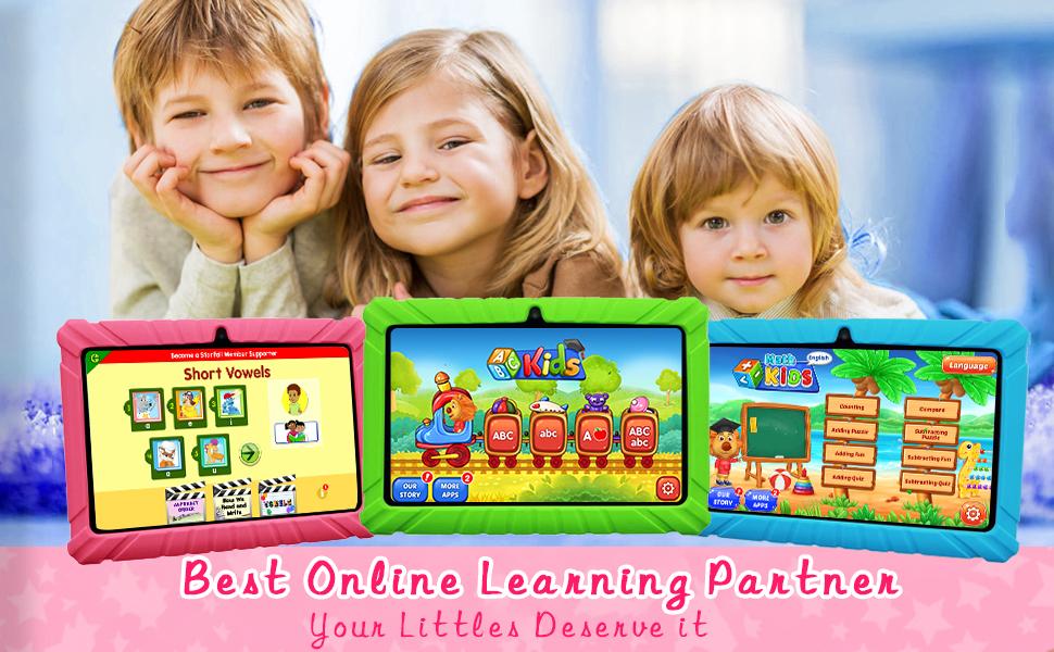 KIDS TABLET LEARNING EDUCATION