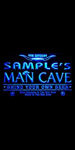 ADVPRO LED neon sign Personalized fonts text Traditional Color Switch light man cave