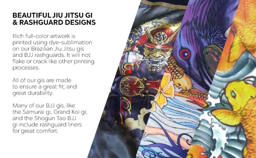 GI and Rashguard Designs