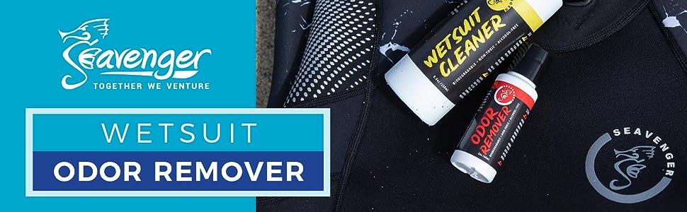 Seavenger Wetsuit Odor Remover