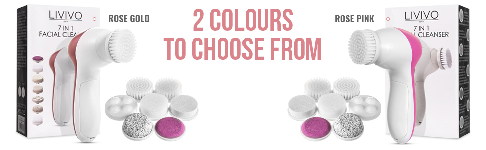 2 COLOURS TO CHOOSE FROM ROSE GOLD / PINK