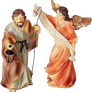 Nativity Angel and Joseph