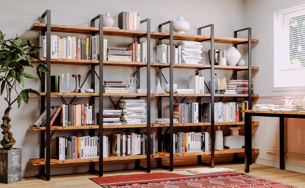 bookshelf 5 tier sanan