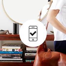 simple setup, smartphone, canary app, canary view