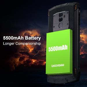 DOOGEE S55 Outdoor Smartphone Sbloccato