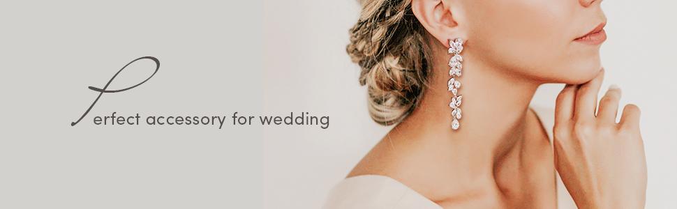 Rose Gold/Silver Earrings
