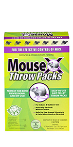 MouseX Throw Packs