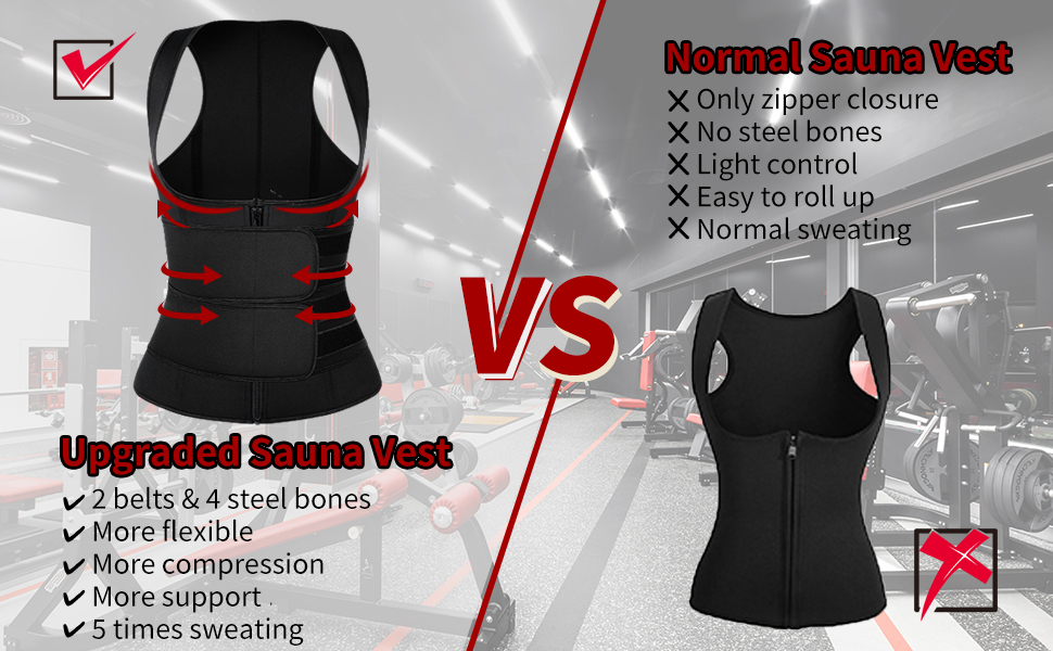 workout neoprene waist trainer vest