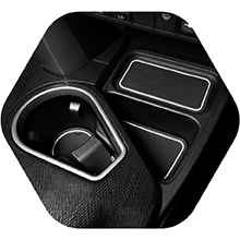Cup holder inserts that are easy to install