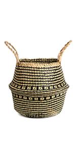Cross Pattern Basket