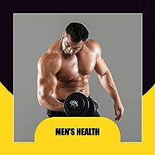 Men's Health Supplement Stress relief adaptogen capsule Mood boost stamina vitality fertility