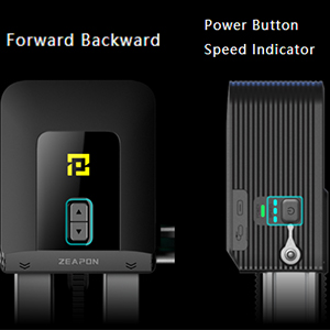Adjustable Speeds with Intuitive Control