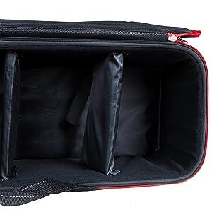 Faltbare 143 Universelle Stativtasche f/ür Stative bis 30 Zoll 35cm schwarz gepolsterte Stativtasche mit Gurt tragbare