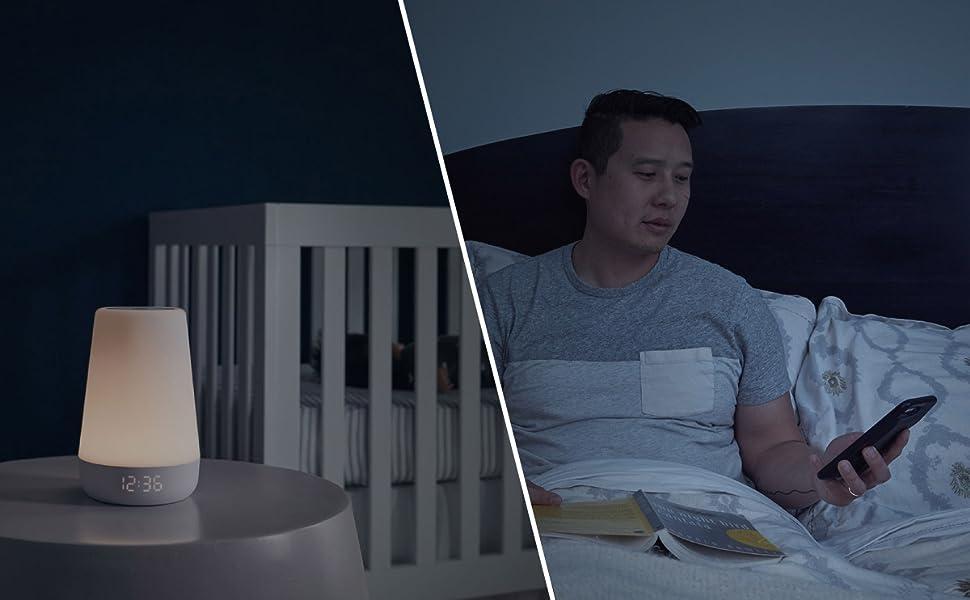 audio baby monitor, two way monitor, toddler wake up clock, kids night light, baby sound machine