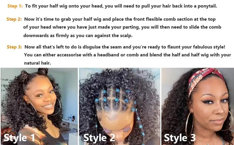 kinky straight human hair wig,half wig kinky straight,kinky straight half wigs for black women