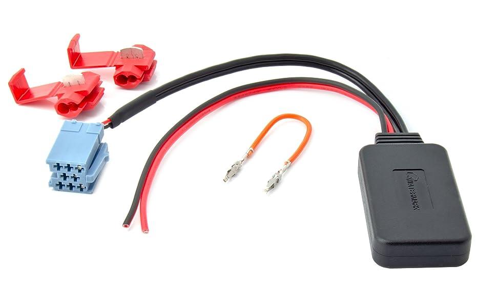 Bluetooth Aux Adapter Für Alfa Fiat Lancia Vw Citroen Peugeot Mp3 Musik Streaming Elektronik
