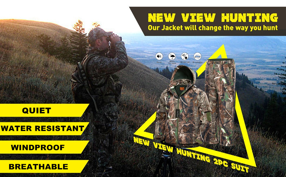 hunting jacket for man