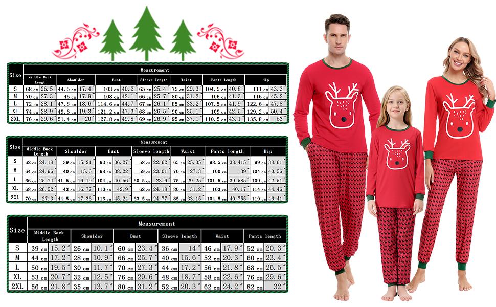 Pijama familiar navideño