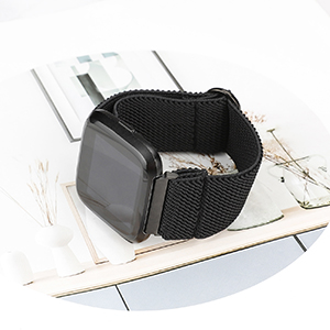 Elastic Fitbit Versa 2 Scrunchie Bands Fabric Nylon Strap Fashion Lite Special Edition Wristband