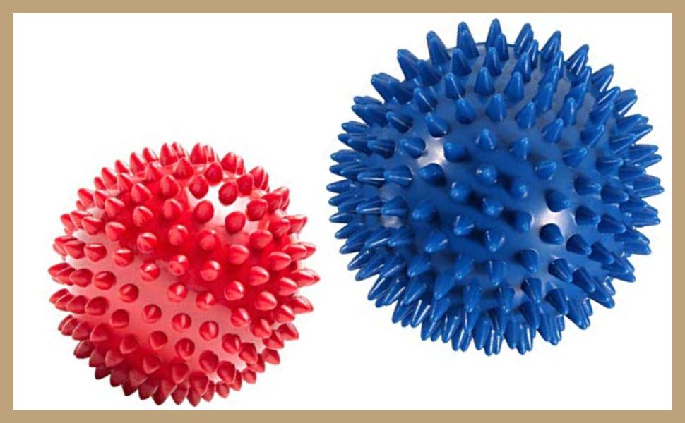 Yamkas Bola de Masaje Punta 6cm | Masajeador Pies, Espalda, Cuello ...